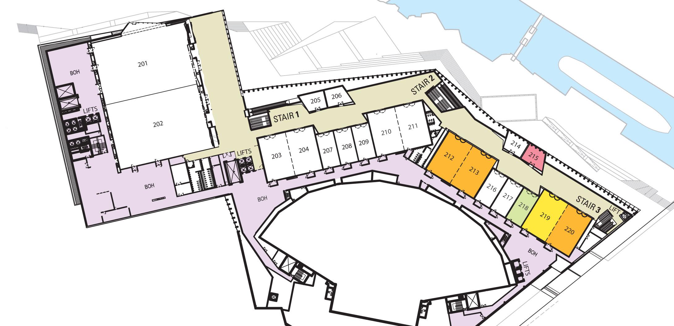 Melbourne Convention and Exhibition Centre Level 2