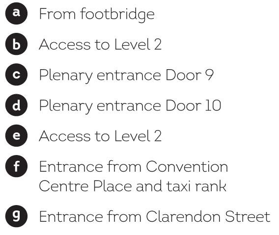MCEC Access points