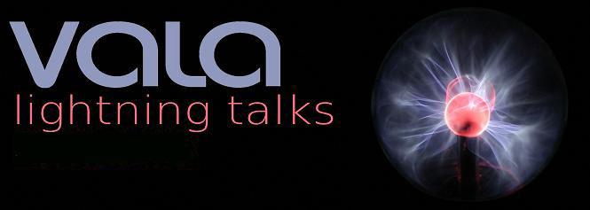 vala lightning talk banner