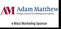 Adam Matthew sponsor logo